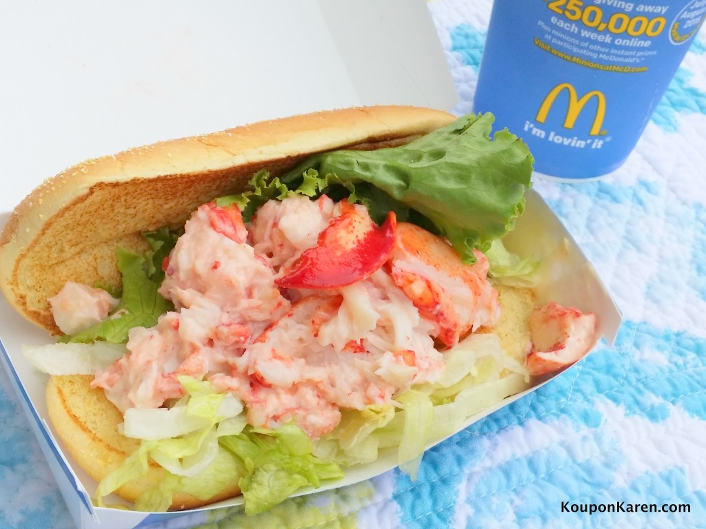 McDonald's and Lobster Roll in the same paragraph. The McDonald ...